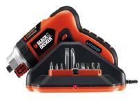 Black & Decker AS36LN Lithium-Ion Auto Select Screwdriver with Magnetic Screw Holder 3.6 Volt